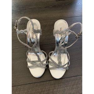 Stroppy Silver Heels